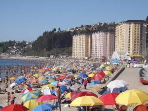 Departamentos Playa Bellavista tome, Apartments  Tomé - big - 16