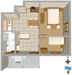 Apartment Vis 2477a