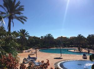 Spacious clean and equipped apartment with terraces in complex with garden, great pools, tennis, Corralejo  - Fuerteventura