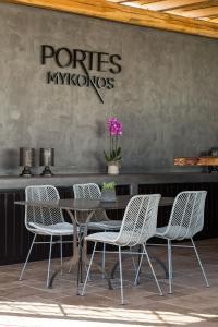 Portes Suites & Villas Mykonos, Aparthotely  Glastros - big - 73