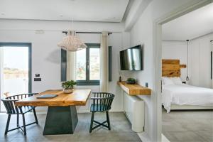 Portes Suites & Villas Mykonos, Aparthotely  Glastros - big - 37
