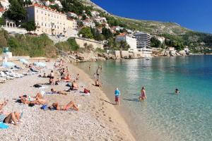 Twin Room Dubrovnik 9071a, Гостевые дома  Дубровник - big - 11