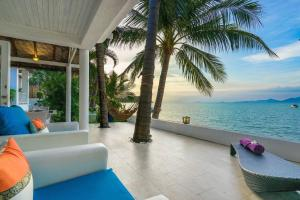 1 Bedroom Beach Front Villa - on Beautiful Bangrak Beach