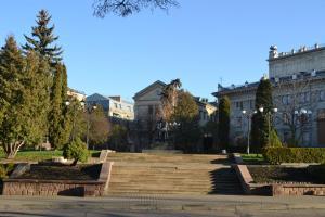 Hrushevsky Apartment Near The Theater, Apartmanok  Ternopil - big - 18