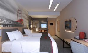 Auberges de jeunesse - Thank Inn Chain Hotel Jiangsu Suqian Sihong Shuanggou Town Dongdajie