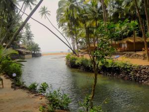 Krishna Paradise Beach Resort, Campeggi di lusso  Cola - big - 62