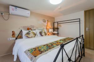 Family Kids Loft Homestay Near Subway Changlong, Apartmány  Kanton - big - 22