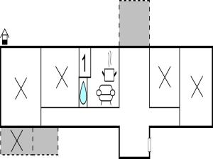 One-Bedroom Apartment in Ljungby, Люнгбю