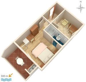 Studio Nemira 6070d, Apartmány  Tice - big - 21