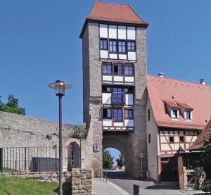 Jakobsturm Ferien im Turm - Creglingen