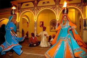 Indra Vilas, Курортные отели  Alsīsar - big - 14
