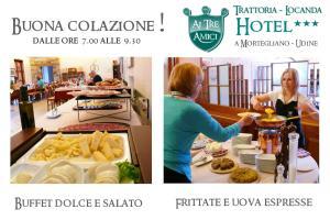 Trattoria Locanda Ai Tre Amici, Hotels  Mortegliano - big - 30