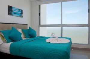 Stunning 2 Bedroom on the Beach in Bocagrande, Apartmanok  Cartagena de Indias - big - 8