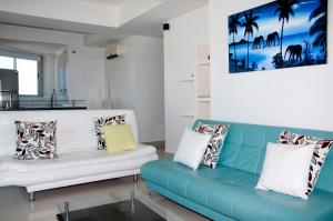 Stunning 2 Bedroom on the Beach in Bocagrande, Apartmanok  Cartagena de Indias - big - 11