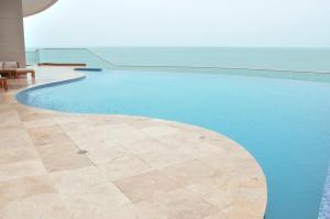 Stunning 2 Bedroom on the Beach in Bocagrande, Apartmanok  Cartagena de Indias - big - 18