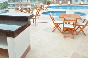 Stunning 2 Bedroom on the Beach in Bocagrande, Apartmanok  Cartagena de Indias - big - 19