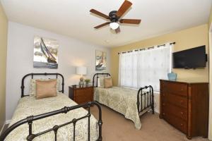 7825 Windsor Hills Resort 6 Bedroom Villa, Виллы  Орландо - big - 17
