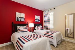 231 The Encore Club Resort 10 Bedroom Villa, Виллы  Орландо - big - 32