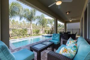 471 The Encore Club Resort 5 Bedroom Villa, Villas  Orlando - big - 20
