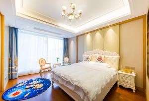 Suzhou Center Apartment, Apartmanok  Szucsou - big - 1