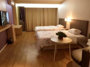 Hostels und Jugendherbergen - JUNYI Hotel Henan Zhengzhou Shangjie District Xuchang Road