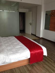 Hostels und Jugendherbergen - Thank Inn Chain Hotel Jiangsu Yangzhou Jiangdu District Daqiao Town