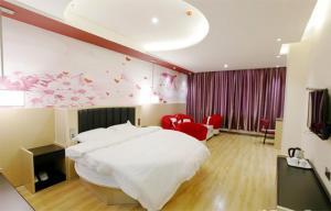 Auberges de jeunesse - Thank Inn Chain Hotel Jiangsu Nanjing Jiangning District Hehai University