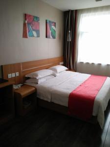 Thank Inn Chain Hotel Shanxi Yulin Qingjian Road, Hotel  Yulin - big - 1