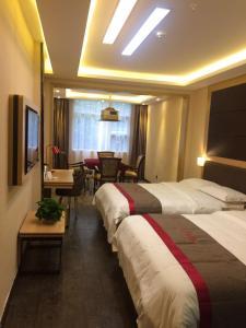 Albergues - Thank Inn Chain Hotel Chongqing Qianjiang District East Xinhua Road