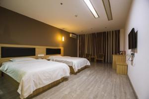 Hostels und Jugendherbergen - Thank Inn Chain Hotel Jiangsu Muyang Government