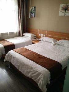 Thank Inn Chain Hotel Shanxi Yulin Qingjian Road, Hotel  Yulin - big - 6