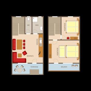 Hechenbergerhof - Apartment - Bichlbach