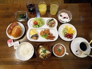 Southern Cross Inn Matsumoto, Отели эконом-класса  Мацумото - big - 9