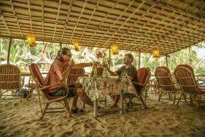 Krishna Paradise Beach Resort, Campeggi di lusso  Cola - big - 52