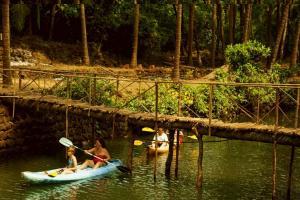 Krishna Paradise Beach Resort, Campeggi di lusso  Cola - big - 54