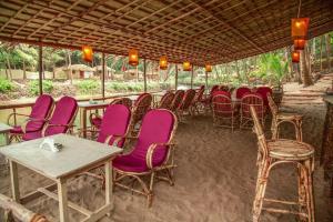 Krishna Paradise Beach Resort, Campeggi di lusso  Cola - big - 56