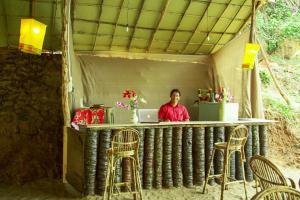 Krishna Paradise Beach Resort, Campeggi di lusso  Cola - big - 59