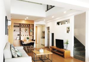 Queen Apartment Puwu Three Bedrooms Loft, Апартаменты  Сямынь - big - 3