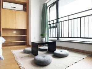 Queen Apartment Puwu Three Bedrooms Loft, Апартаменты  Сямынь - big - 4