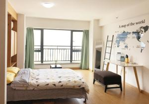 Queen Apartment Puwu Three Bedrooms Loft, Апартаменты  Сямынь - big - 8