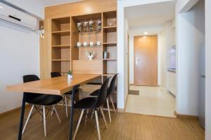 Queen Apartment Puwu Three Bedrooms Loft, Апартаменты  Сямынь - big - 20