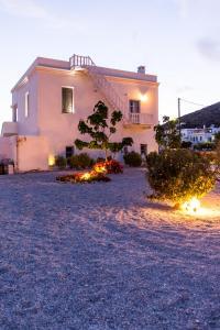 Thomas Villas on the beach Katapola Amorgos Greece