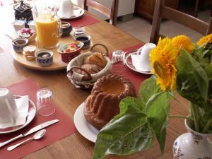 Ferme Martzloff, B&B (nocľahy s raňajkami)  Breuschwickersheim - big - 9