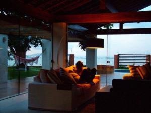 Casa de Ponta das Canas, Dovolenkové domy  Florianópolis - big - 20