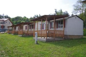 Mobilheimy u prehrady - Brno