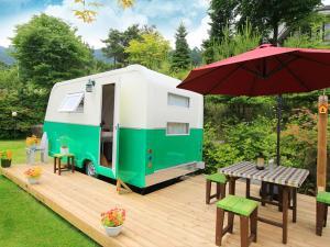 Beautiful Day Caravan, Kempy  Pyeongchang  - big - 15