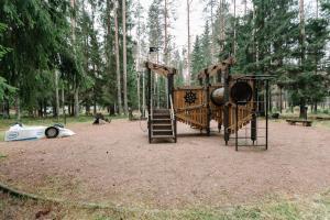 Baza otdiha Lesnaya Obitel, Kúriák  Roscsino - big - 41