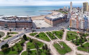 Apartamento Eden frente a la playa, Ferienwohnungen  Mar del Plata - big - 1