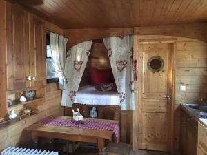 La Roulotte du Granit Doré, Dovolenkové domy  Jullié - big - 23