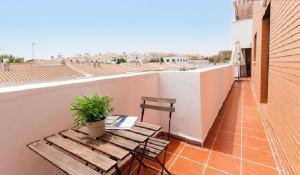 Apartamento con Terraza a 5 min playa, Apartmány  Rincón de la Victoria - big - 1